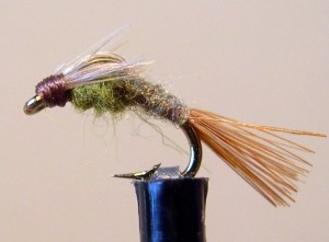 BWO Barr Emerger (Click pic for Recipe)