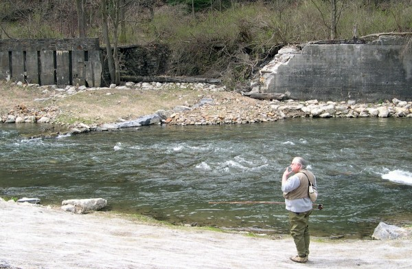 Trip report spring creek centre county pa casting around for Spring creek pa fishing report