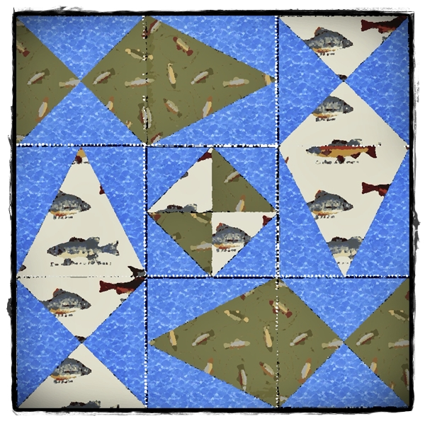 Fish Quilt by Anthony Naples